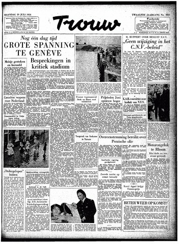 Trouw / De Rotterdammer 1954-07-19