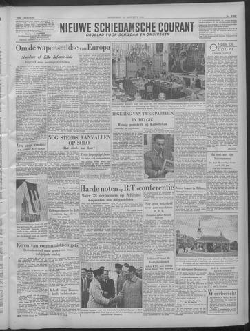 Nieuwe Schiedamsche Courant 1949-08-11