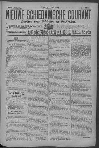 Nieuwe Schiedamsche Courant 1918-05-17