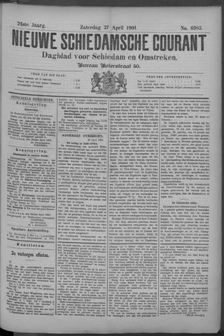 Nieuwe Schiedamsche Courant 1901-04-27