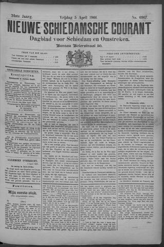 Nieuwe Schiedamsche Courant 1901-04-05