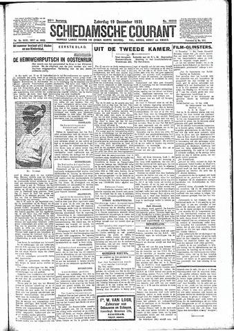 Schiedamsche Courant 1931-12-19