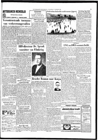 Rotterdamsch Nieuwsblad / Schiedamsche Courant / Rotterdams Dagblad / Waterweg / Algemeen Dagblad 1966-01-17
