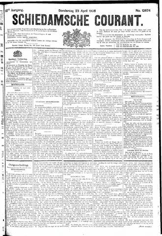 Schiedamsche Courant 1908-04-23