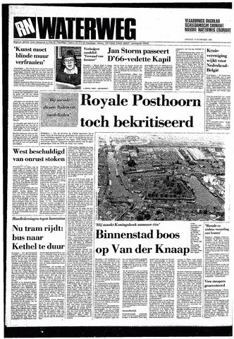 Rotterdamsch Nieuwsblad / Schiedamsche Courant / Rotterdams Dagblad / Waterweg / Algemeen Dagblad 1985-11-12