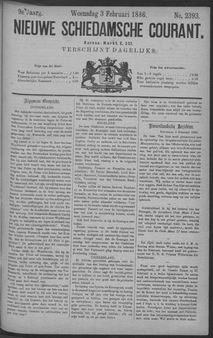 Nieuwe Schiedamsche Courant 1886-02-03