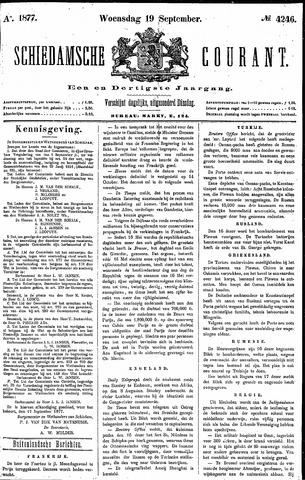 Schiedamsche Courant 1877-09-19