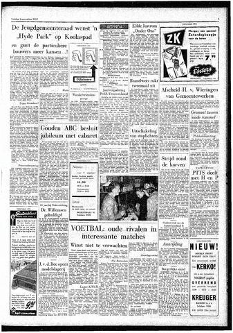 Rotterdamsch Parool / De Schiedammer 1957-11-01