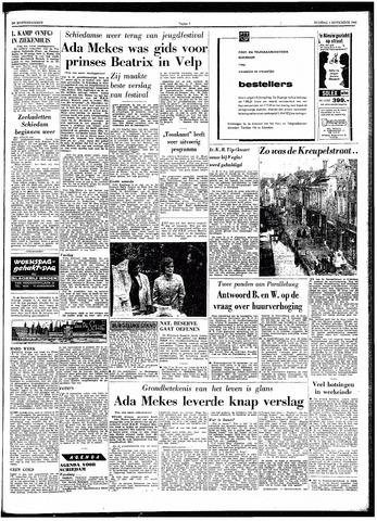 Trouw / De Rotterdammer 1962-09-04