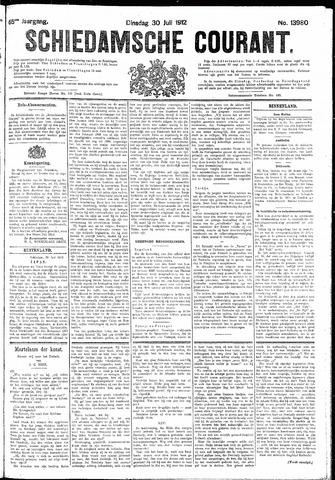Schiedamsche Courant 1912-07-30