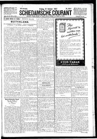 Schiedamsche Courant 1927-10-21
