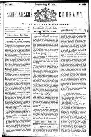 Schiedamsche Courant 1881-05-12