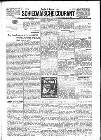 Schiedamsche Courant 1935-02-05