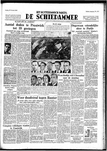Rotterdamsch Parool / De Schiedammer 1948-10-22
