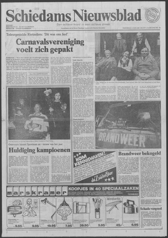 Schiedams Nieuwsblad 1982