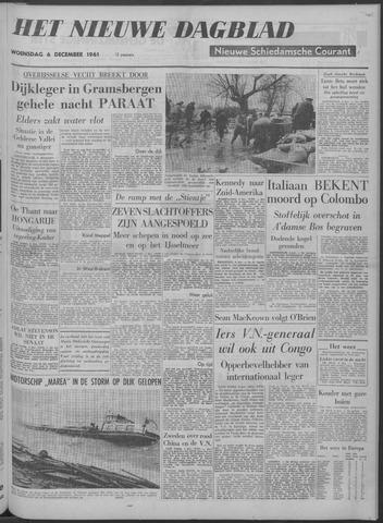 Nieuwe Schiedamsche Courant 1961-12-06