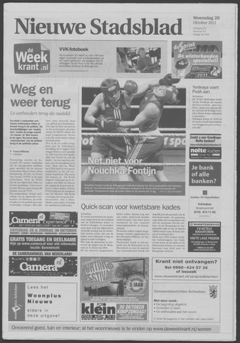 Het Nieuwe Stadsblad 2011-10-26