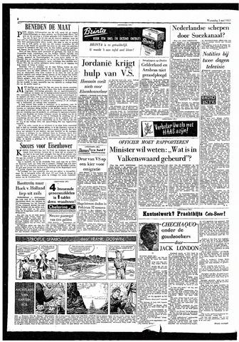 Rotterdamsch Parool / De Schiedammer 1957-05-01