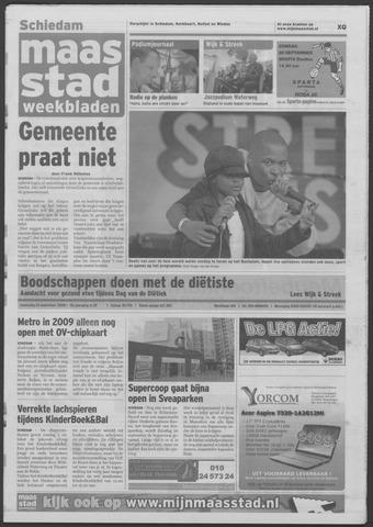 Maaspost / Maasstad / Maasstad Pers 2008-09-24