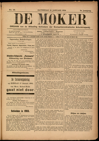De Moker 1904-01-16