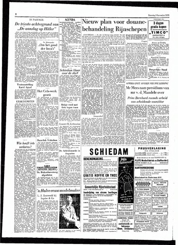 Rotterdamsch Parool / De Schiedammer 1955-09-03