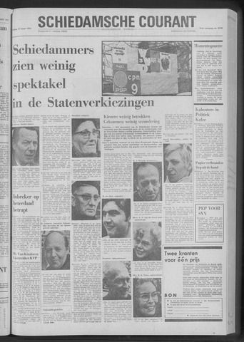 Rotterdamsch Nieuwsblad / Schiedamsche Courant / Rotterdams Dagblad / Waterweg / Algemeen Dagblad 1970-03-13