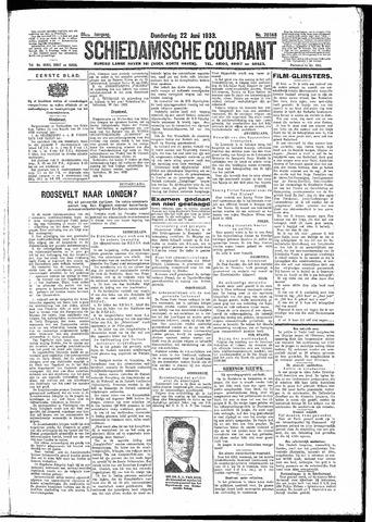 Schiedamsche Courant 1933-06-22