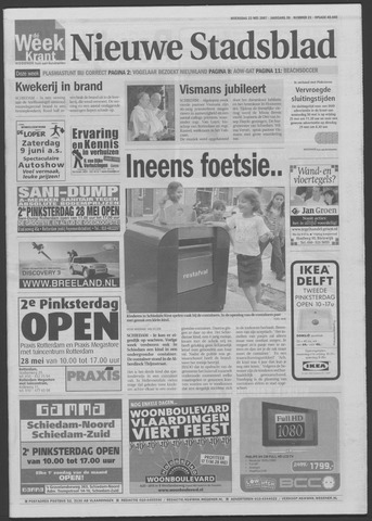 Het Nieuwe Stadsblad 2007-05-23