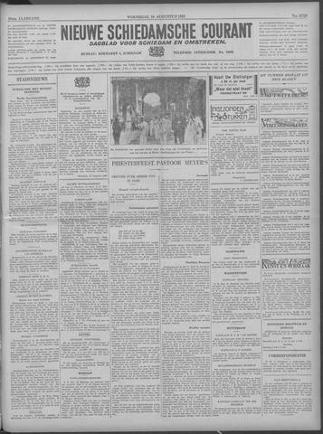 Nieuwe Schiedamsche Courant 1933-08-16