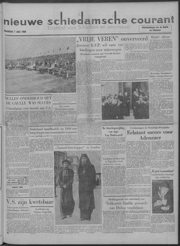 Nieuwe Schiedamsche Courant 1958-07-07