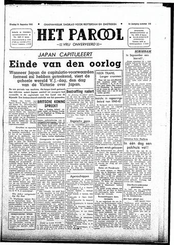 Rotterdamsch Parool / De Schiedammer 1945-08-14
