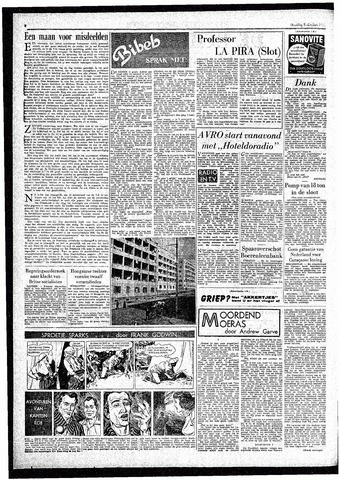 Rotterdamsch Parool / De Schiedammer 1957-10-08
