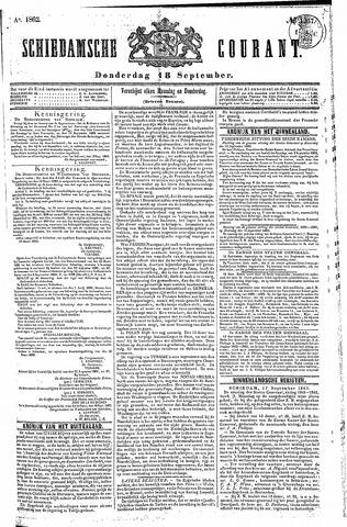 Schiedamsche Courant 1862-09-18