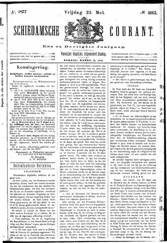 Schiedamsche Courant 1877-05-25