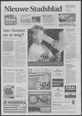 Het Nieuwe Stadsblad 2012-09-12
