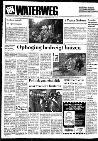 Rotterdamsch Nieuwsblad / Schiedamsche Courant / Rotterdams Dagblad / Waterweg / Algemeen Dagblad 1987-11-05
