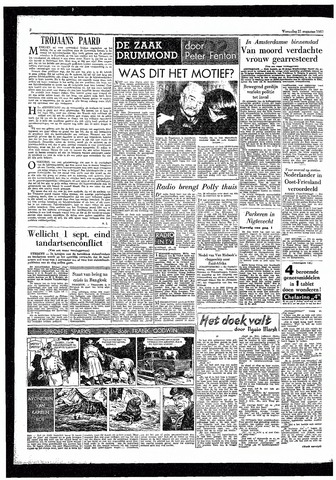 Rotterdamsch Parool / De Schiedammer 1957-08-21