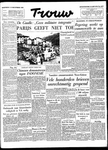 Trouw / De Rotterdammer 1959-12-16