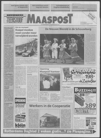 Maaspost / Maasstad / Maasstad Pers 1995-01-18
