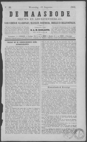De Maasbode 1853-08-17