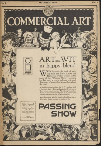 Commercial Art / Art and Industry en 1922