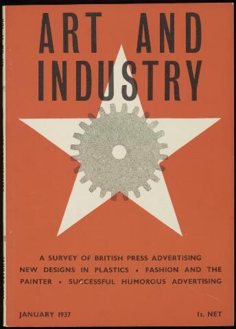 Commercial Art / Art and Industry en 1937