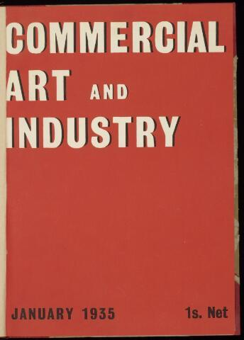 Commercial Art / Art and Industry en 1935