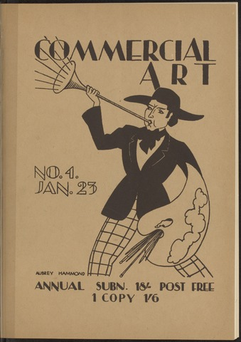 Commercial Art / Art and Industry en 1923