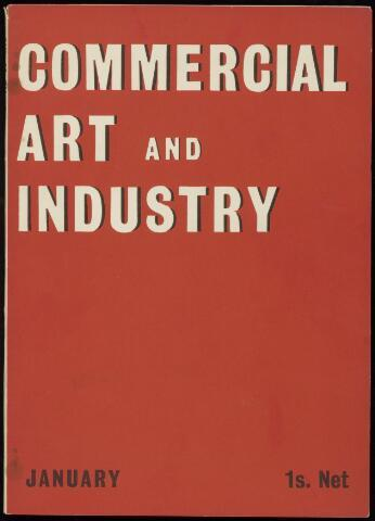 Commercial Art / Art and Industry en 1933