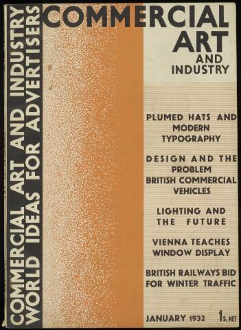 Commercial Art / Art and Industry en 1932