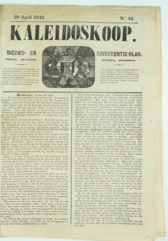 De Kaleidoskoop (1846-1851) 1848-04-29