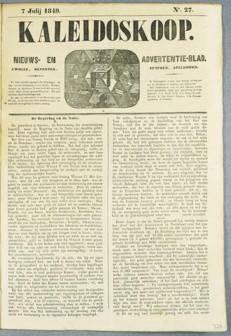 De Kaleidoskoop (1846-1851) 1849-07-07