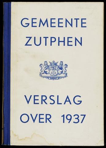 Jaarverslagen gemeente Zutphen 1937-12-31