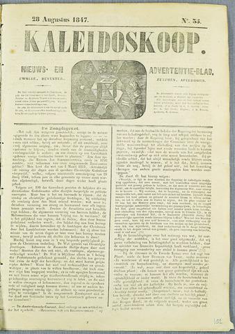 De Kaleidoskoop (1846-1851) 1847-08-28